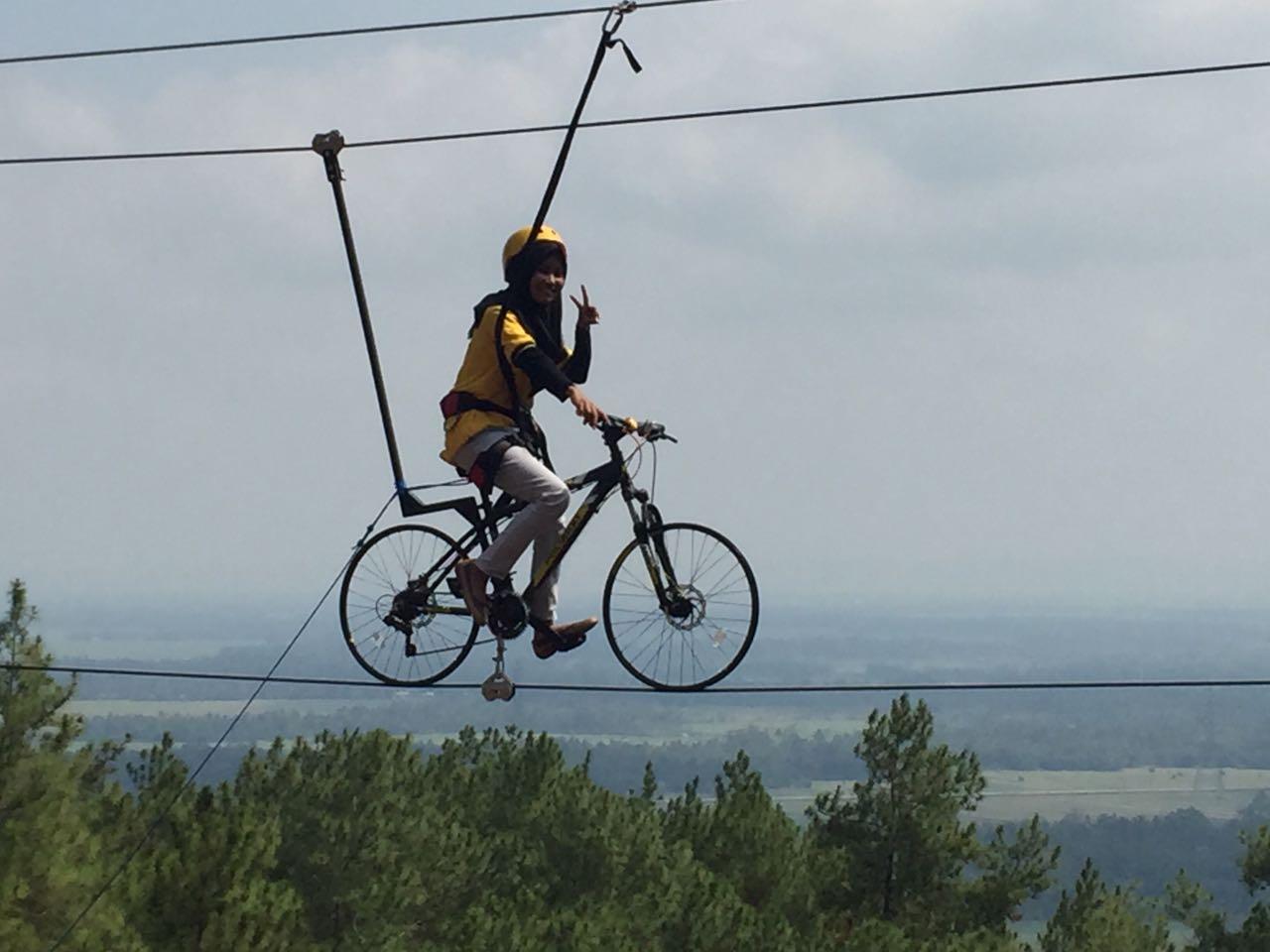 sepeda udara kemit forest